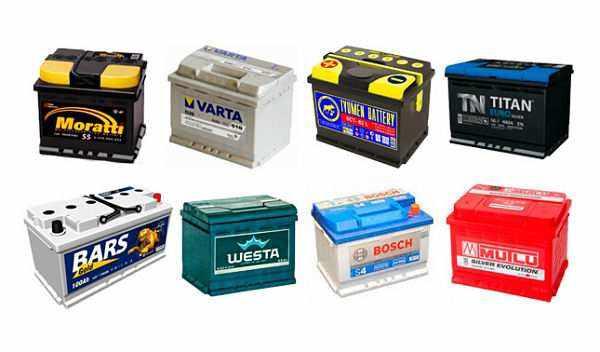 марки аккумуляторов