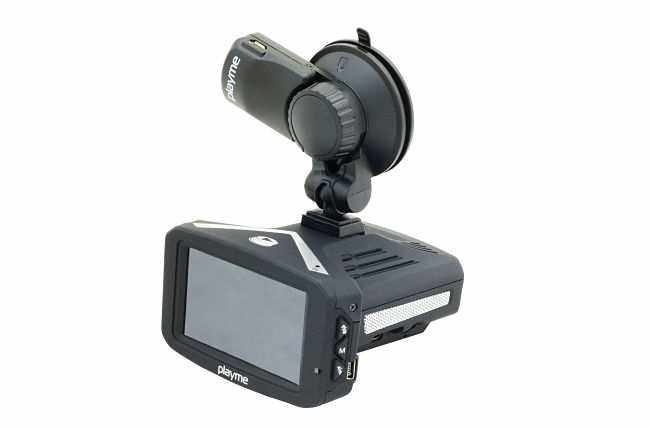 Видеорегистратор с антирадаром Playme