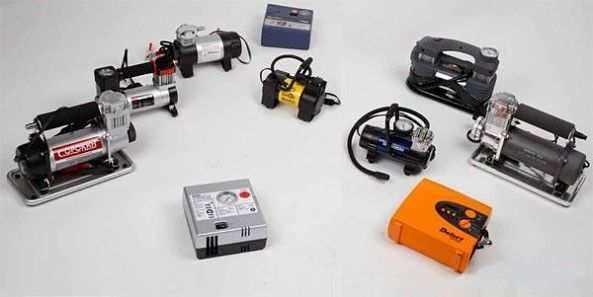 разные автомобильные компрессоры