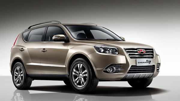Geely Emgrand X 7