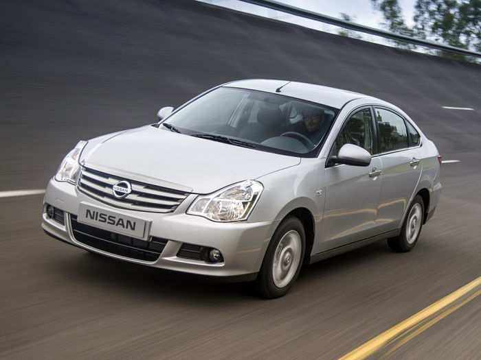 Nissan Almera седан за 0,5 млн рублей