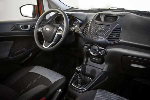 Ford EcoSport интерьер