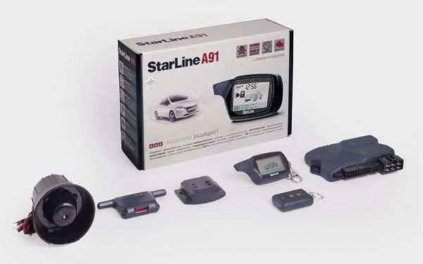 бюджетная сигнализация StarLine А91