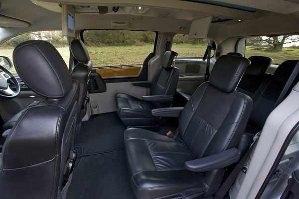 Chrysler Grand Voyager салон