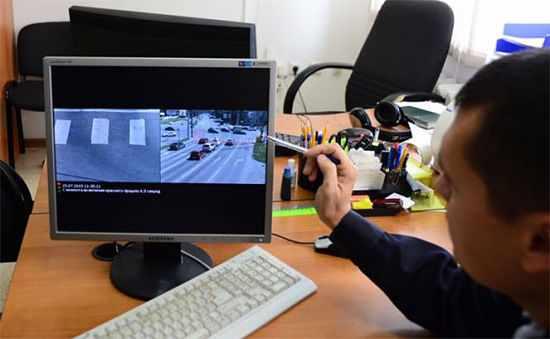 Видео с камеры наблюдения