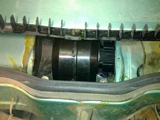 моторчик печки ВАЗ 2114