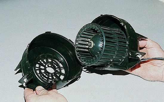 разборка вентилятора