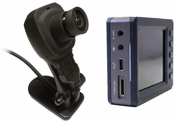 видеорегистратор Axiom CarVision 1100 с одной выносной камерой