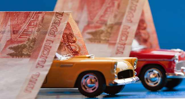 Машинки под деньгами