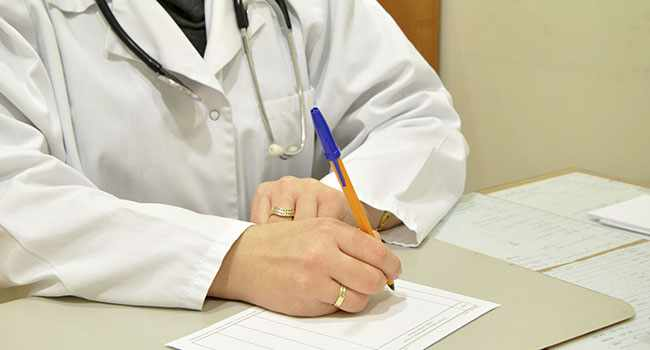 Заключение медицинских специалистов