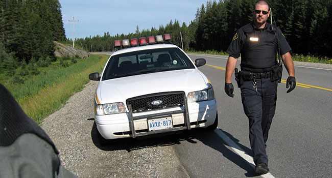 Дорожная полиция Канады